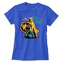 Captain Marvel Goose on Helmet ''Fly High'' T-Shirt for Women - Customizable