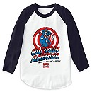 Captain America: ''The Captain Will Make It Happen'' Raglan T-Shirt for Men