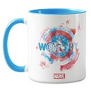 Captain America: ''Worthy'' Mug - Customizable
