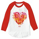 Iron Man: Watercolor Heart Raglan T-Shirt for Men - Customizable