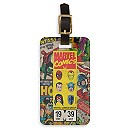 Marvel Comics Retro Covers Bag Tag - Customizable