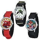 Marvel Time Teacher Watch with Nylon Strap for Kids - Create Your Own