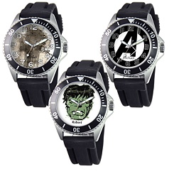 Marvel Stainless Steel Sport Watch - Create Your Own