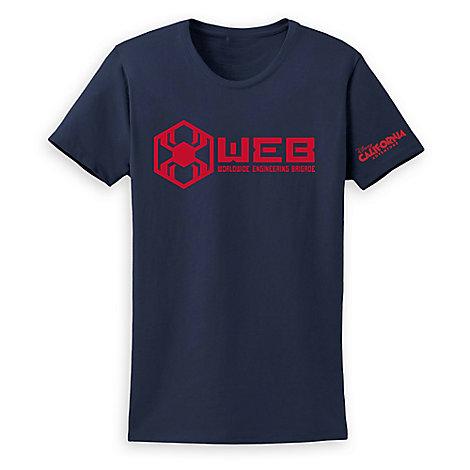 WEB Worldwide Engineering Brigade T-Shirt for Women – Disney California Adventure