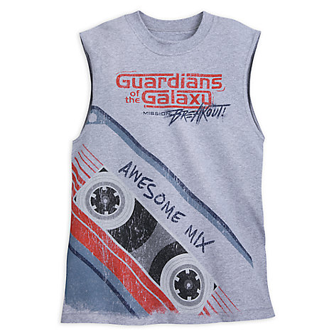 Guardians of the Galaxy: Mission Breakout! Sleeveless T-Shirt for Adults