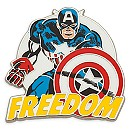 Captain America Pin