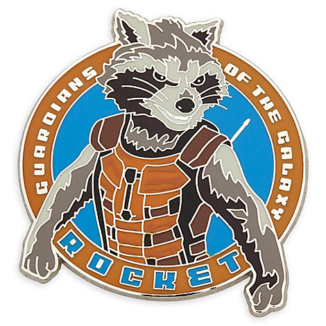Rocket Raccoon Pin - Guardians of the Galaxy Vol. 2