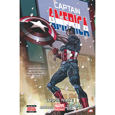 Captain America: Loose Nuke Book