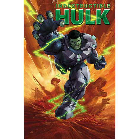 Indestructible Hulk: S.M.A.S.H. Time Book