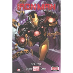Iron Man: Believe Book