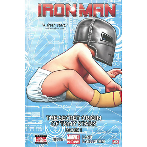 Iron Man: The Secret Origin of Tony Stark Book 1