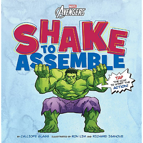 Marvel's Avengers Shake to Assemble Book