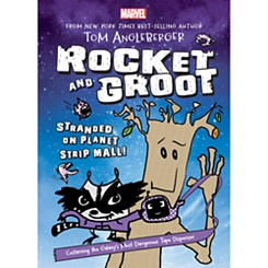 Rocket and Groot: Stranded on Planet Strip Mall! Book