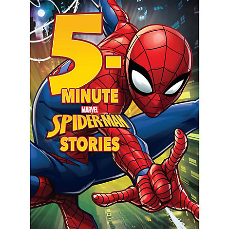 Spider-Man 5-Minute Stories Book