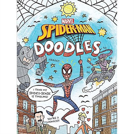 Spider-Man Doodles Book