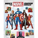 Meet the Marvel Super Heroes Book - 2nd Edition