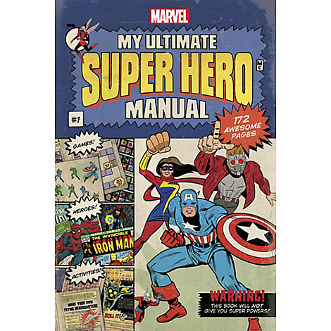 Marvel: My Ultimate Super Hero Manual Book