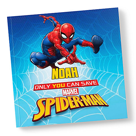 Only You Can Save Spider-Man Book - Paperback - Personalizable