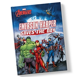 Avengers: (Your Name) Saves the Day - Hardback - Personalizable
