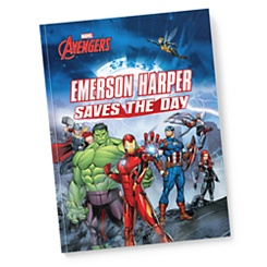 Avengers: (Your Name) Saves the Day - Paperback - Personalizable