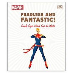Marvel: Fearless and Fantastic! Female Super Heroes Save the World Book