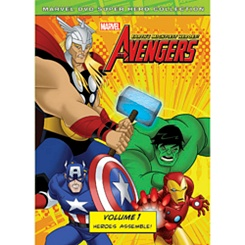 Marvel's The Avengers: Heroes Assemble Volume 1 DVD