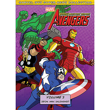 Marvel's The Avengers: Iron Man Unleashed Volume 3