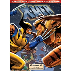 Marvel's X-Men Volume 4 DVD