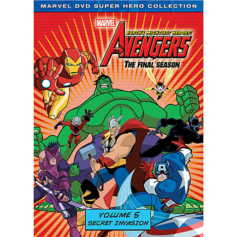 Marvel's The Avengers: Earth's Mightiest Heroes DVD Volume 5: Secret Invasion