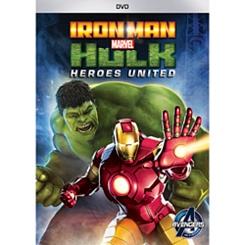 Iron Man and Hulk: Heroes United DVD