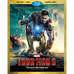 Iron Man 3 Blu-ray Combo Pack + Digital Copy