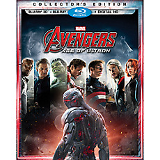 59115fed256ccb Marvel's Avengers: Age of Ultron Collectors Edition 3-D Combo Pack
