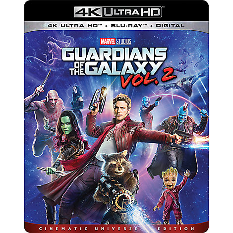 Guardians of the Galaxy Vol 2. - 4K Ultra HD