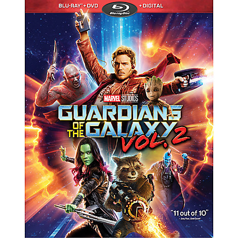 Guardians of the Galaxy Vol. 2 Blu-ray Combo Pack