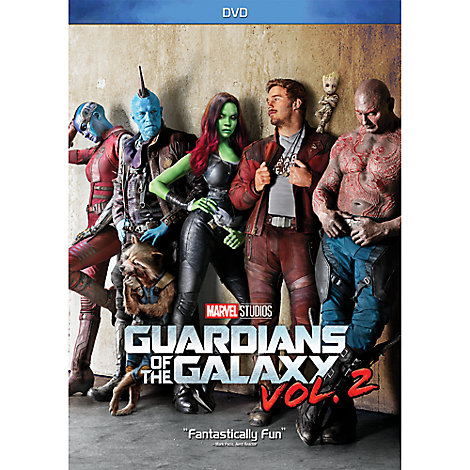 Guardians of the Galaxy Vol. 2 DVD