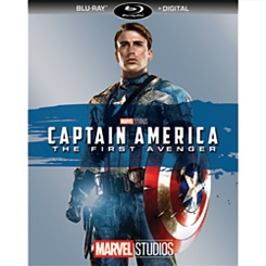 Captain America: The First Avenger Blu-ray + Digital Copy