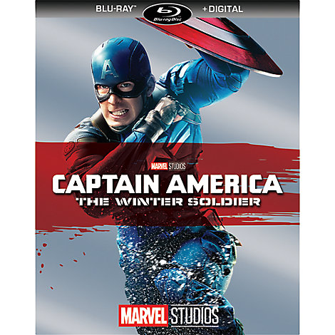 Captain America: The Winter Soldier Blu-ray + Digital Copy